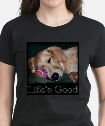 Life is Good Women's Dark T-Shirt