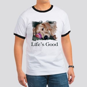 Life is Good Ringer T