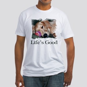 Life is Good Fitted T-Shirt