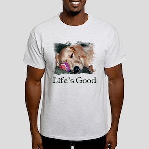 Life is Good Light T-Shirt