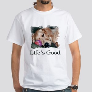 Life is Good White T-Shirt