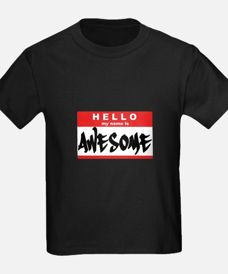 Hello I'm Awesome - T