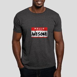 Hello I'm Awesome - Dark T-Shirt