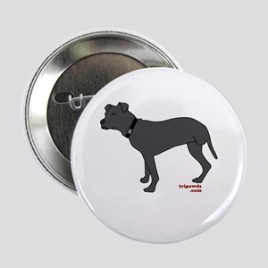 "Rear Leg Tripawd Pit Bull 2.25"" Button"