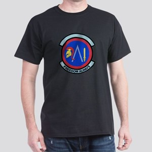 930th Security Police Black T-Shirt