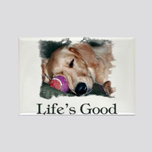 Life is Good Rectangle Magnet