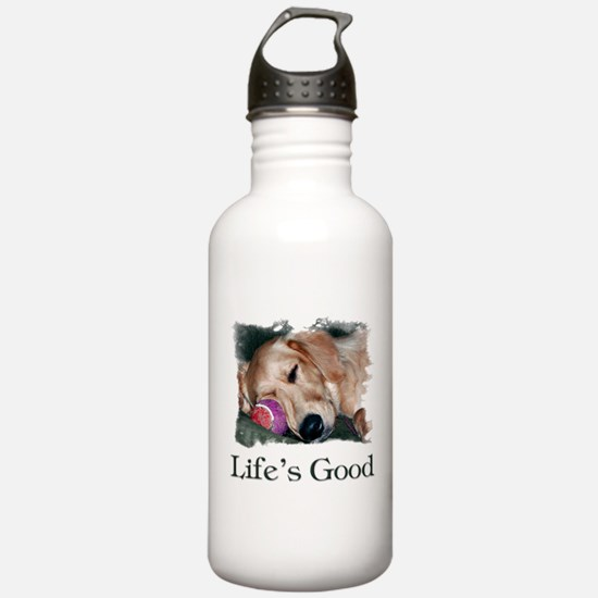 Life is Good Water Bottle