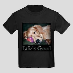 Life is Good Kids Dark T-Shirt