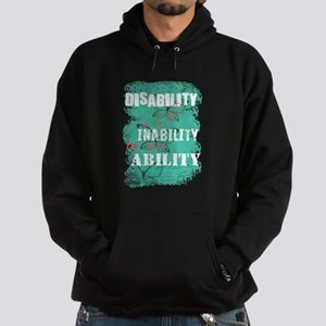 Disability is... Hoodie (dark)