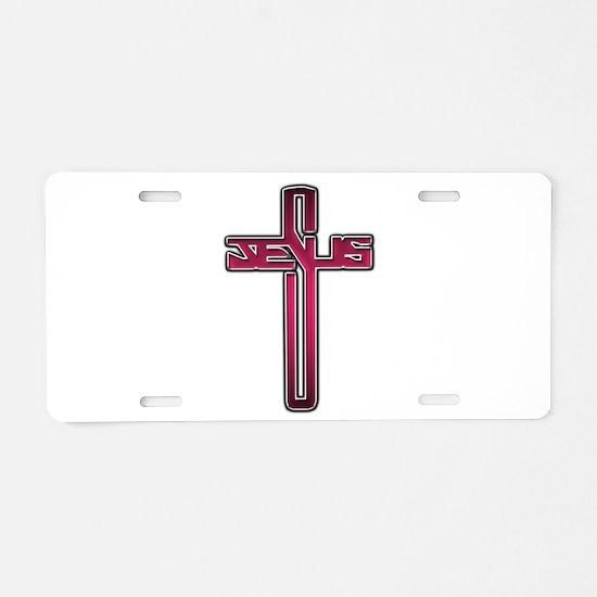 Funny Jesus saves Aluminum License Plate