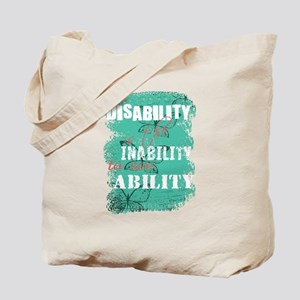 Disability is... Tote Bag