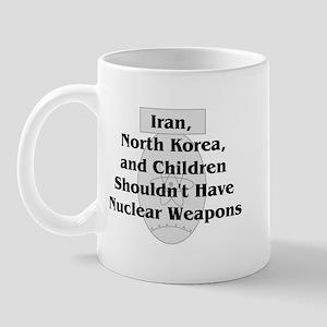 Nuclear Weapons Mug