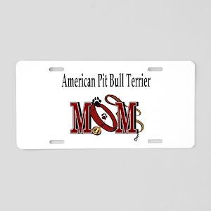 American Pitbull Terrier Aluminum License Plate