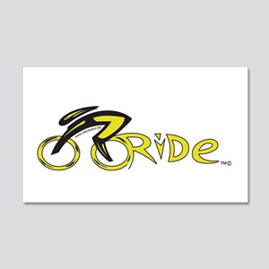 rider aware 2 22x14 Wall Peel