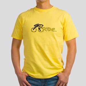 rider aware 2 Yellow T-Shirt