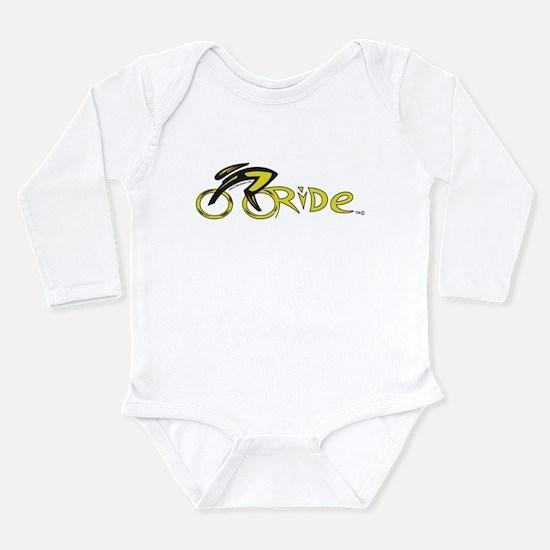 rider aware 2 Long Sleeve Infant Bodysuit