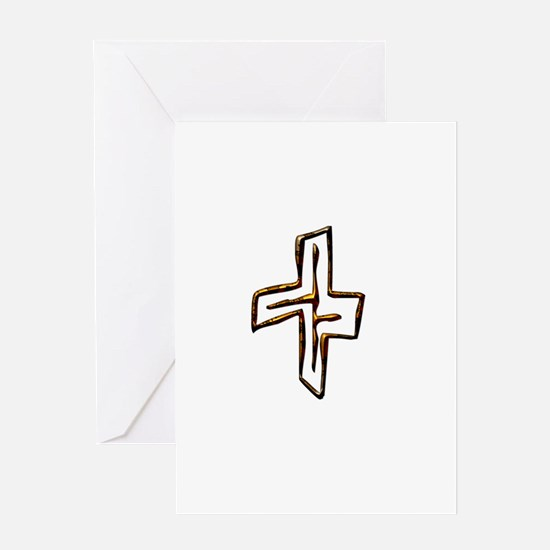 Cute Atheist quotes Greeting Card
