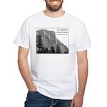 El Capitan in B&W t-shirt--white