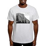 El Capitan in B&W t-shirt--ash grey