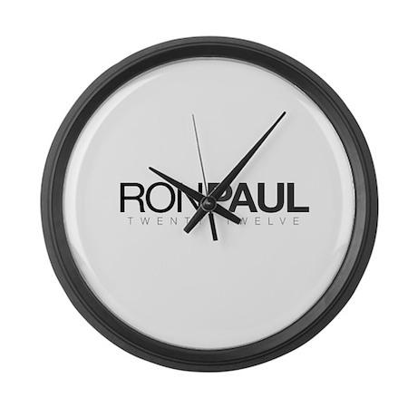 Ron Paul 2012 Gear Large Wall Clock