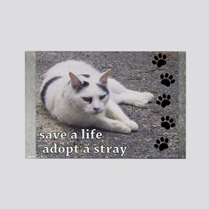 Adopt a Stray Rectangle Magnet