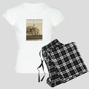 Split Rock Lighthouse Women's Light Pajamas