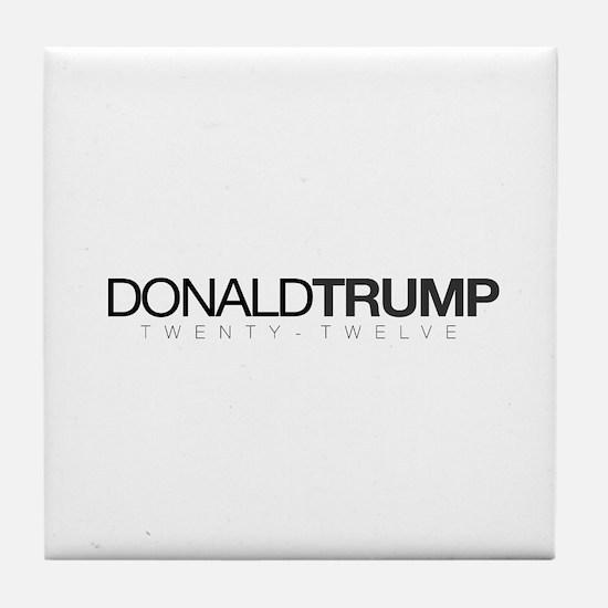 Donald Trump 2012 Tile Coaster