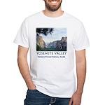 Yosemite Valley View t-shirt--white