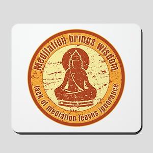 Buddha Meditation Wisdom Mousepad