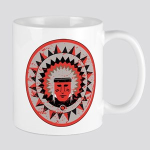 Indian Chief Grunge Mug
