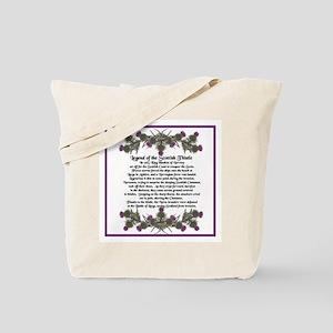 Thistle Legend Tote Bag