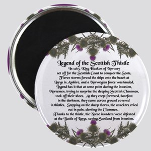Thistle Legend Magnet