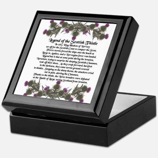 Thistle Legend Keepsake Box