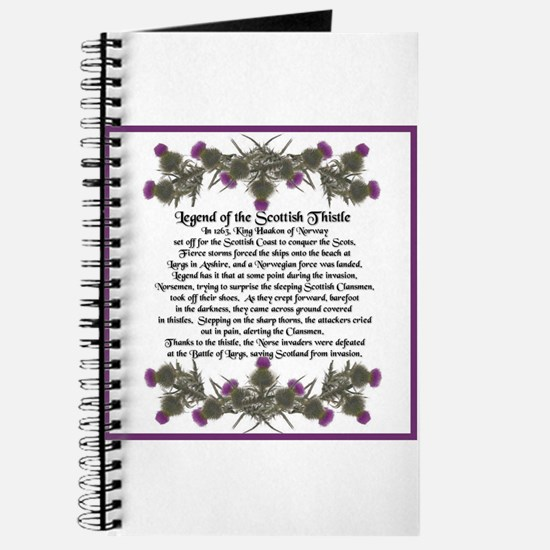 Thistle Legend Journal