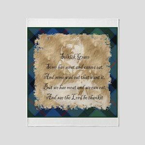 Words Throw Blanket