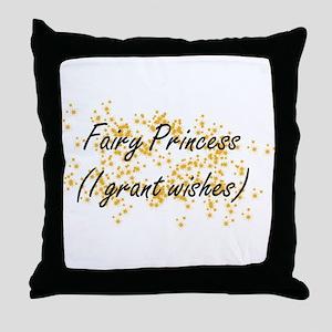 I'm a Fairy Princess Throw Pillow