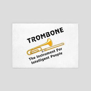 Intelligent Trombone 4' x 6' Rug