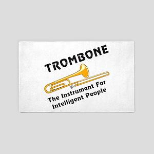 Intelligent Trombone Area Rug