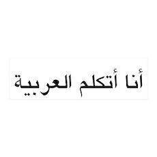 I Speak Arabic 42x14 Wall Peel