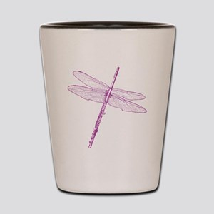 Dragonfly Flute Shot Glass