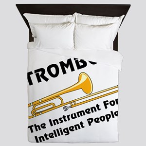 Intelligent Trombone Queen Duvet