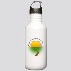Wisdom is a journey! Stainless Water Bottle 1.0L