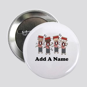 """Personalized Barbershop 2.25"""" Button"""