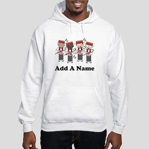 Personalized Barbershop Hooded Sweatshirt