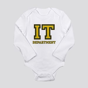 IT Department Long Sleeve Infant Bodysuit