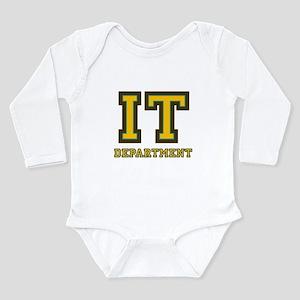 1272431e0fc IT Department Long Sleeve Infant Bodysuit