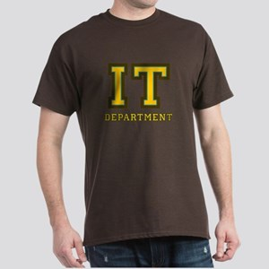 IT Department Dark T-Shirt