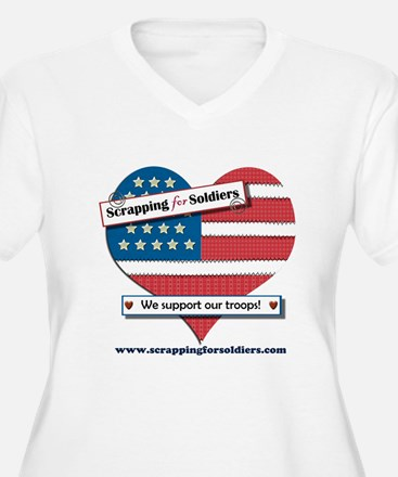 Scrapping for Soldiers T-Shirt