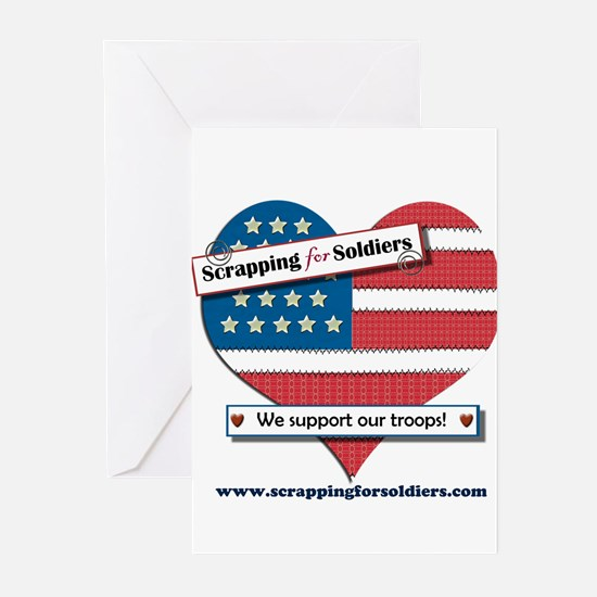Scrapping for Soldiers Greeting Cards (Pk of 20)