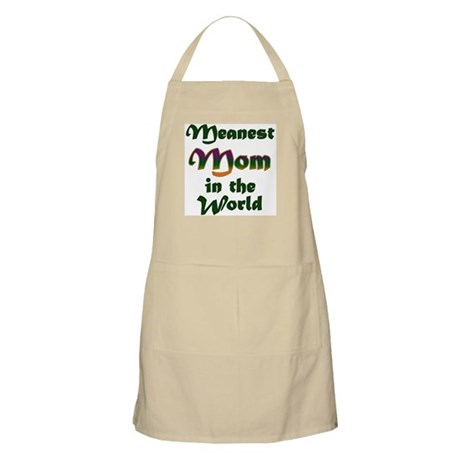 Mother's Day - Meanest Mom BBQ Apron